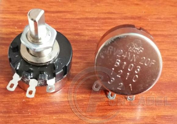 General 10k potentiometers
