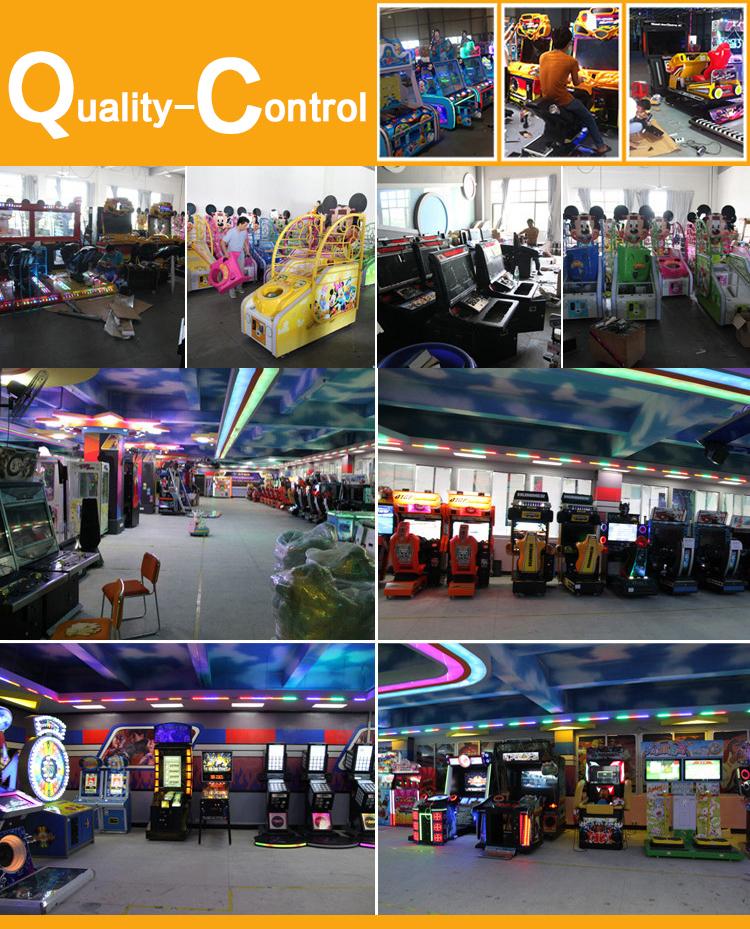 Amusement Machine Games Quality control