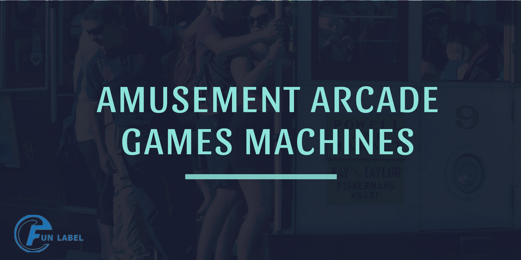 Amusement Machine Specialists FunLabel & Arcade Games Machines